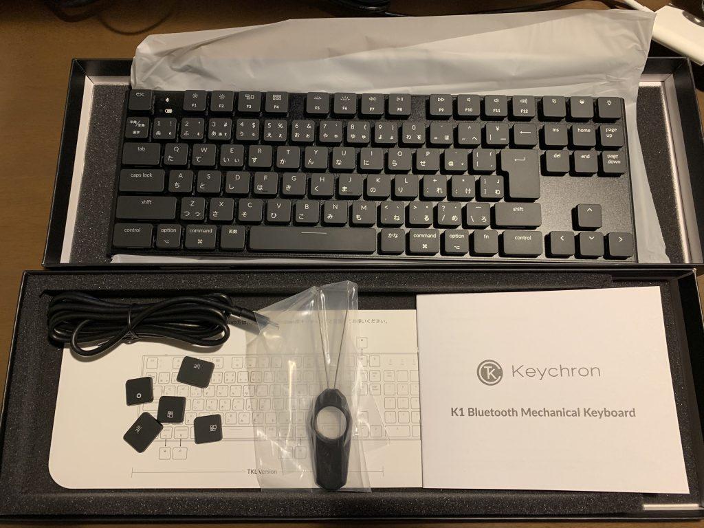 メカニカルキーボード Keychron K1